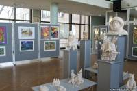 Голубая планета - выставка  изобразительного творчества